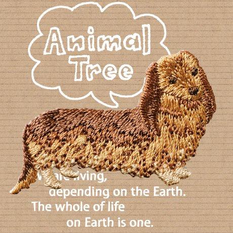 ハマナカ 刺しゅう ワッペン Animal Tree H459-012 3枚セット 【参考画像1】