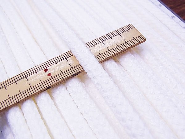 ハマナカ ファッションコード 太さ約8mm巾×15m巻 H771-740-046 【参考画像4】
