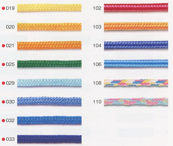 ハマナカ ファッションコード 太さ約8mm巾×15m巻 H771-740-052 【参考画像2】