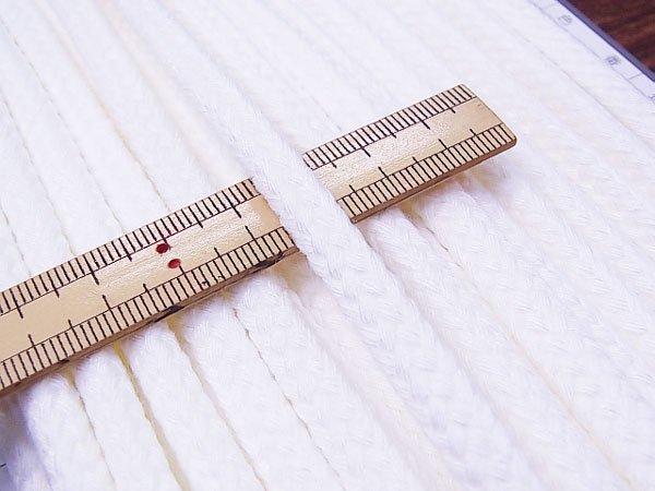 ハマナカ ファッションコード 黒 太さ約8mm巾×15m巻 H771-740-053 【参考画像4】