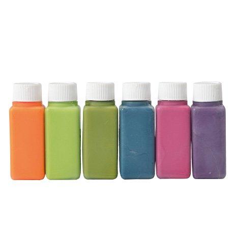 ハマナカ 布用えのぐ ファコ 6色セット ディープカラー H414-230-3 【参考画像1】