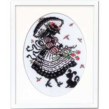 オリムパス 刺繍キット パフスリーブのドレス 7453 赤毛のアンの物語