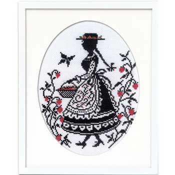 オリムパス 刺繍キット いちご摘み 7454 赤毛のアンの物語