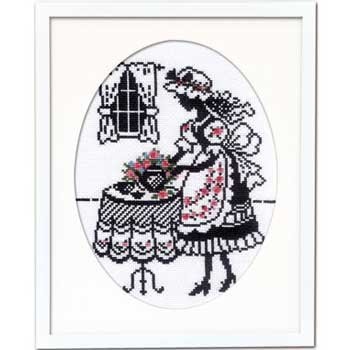 オリムパス 刺繍キット お茶の時間 7456 赤毛のアンの物語