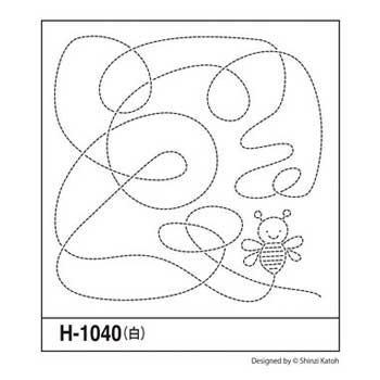 オリムパス 花ふきん 布パック Bee ビー 白 H-1040