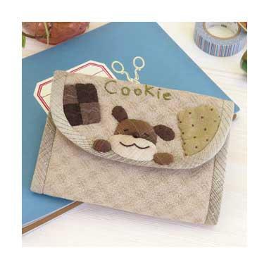 オリムパス パッチワークキット クッキー大好きわんこのカードケース PA-736 【参考画像1】