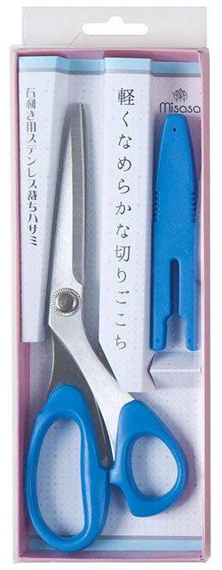 ミササ ステンレス裁ちはさみ ブルー 20cm No.8167 【参考画像2】