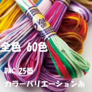 DMC カラーバリエーション糸 全色60色