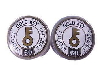 GOLDKEY カタン糸 #60/1000m フジボウカタン