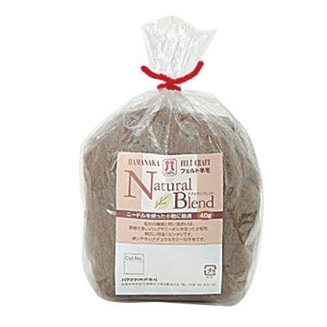 ハマナカ フェルト羊毛 ナチュラルブレンド H440-008-802 【参考画像1】