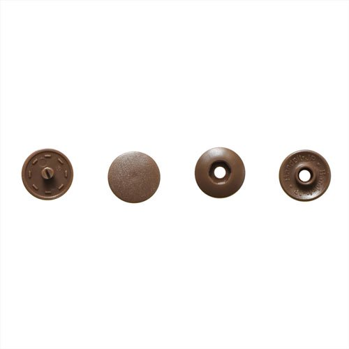 サンコッコー ワンタッチプラスナップ 13mm ブラウン 6組入 SUN17-34【3袋セット】 【参考画像2】