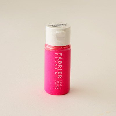 【4560263376237】ファブリエ染料 グリッター ピンク ラメ入り 【参考画像1】