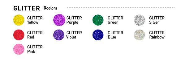 【4560263376237】ファブリエ染料 グリッター ピンク ラメ入り 【参考画像3】