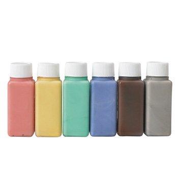 【4977444255395】ハマナカ 布用えのぐ ファコ 6色セット ペールカラー H414-230-2