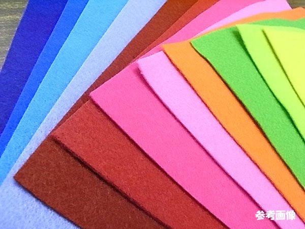 イタリアンカラーフェルト 見本帳 全12色 【参考画像5】