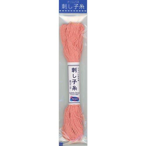 オリムパス 刺し子糸 col.25 20m 【参考画像1】