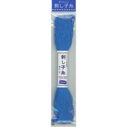 オリムパス 刺し子糸 col.27 20m 【参考画像1】