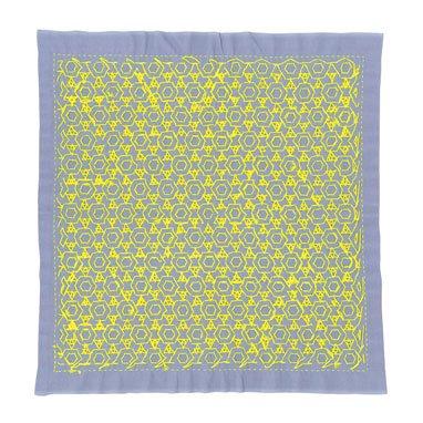 オリムパス 花ふきん  星と三つ菱 ラベンダー 【参考画像2】