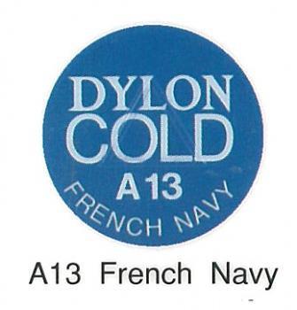 ■廃番■ 水で染める染料・布用 ダイロン コールド A13 フレンチネイビー
