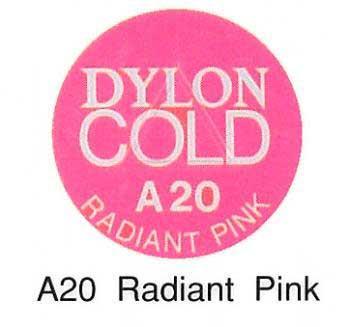 ■廃番■ ダイロンコールド A20 ラディエントピンク 【水で染める染料・生地・布用】
