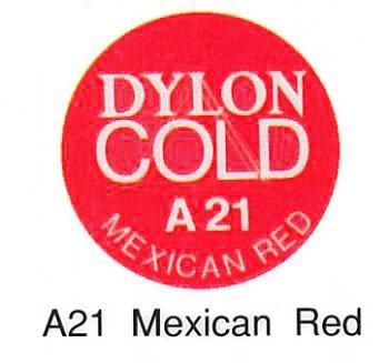 ■廃番■ ダイロンコールド A21 メキシカンレッド 水で染める染料