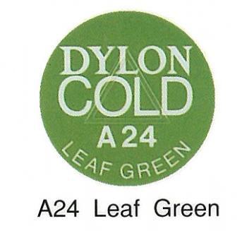 ■廃番■ 水で染める染料・布用 ダイロン コールド A24 リーフグリーン