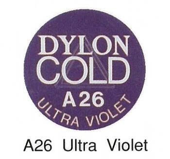 ■廃番■ 水染め染料 ダイロンコールド A26 ウルトラバイオレット