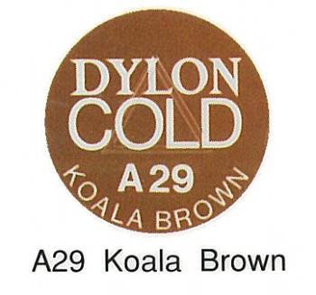 ■廃番■ ダイロンコールド A29 コアラブラウン 水で染め染料