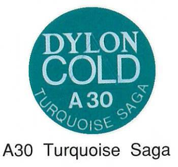 ■廃番■ 水染め染料 ダイロンコールド A30 ターコイズサーガ