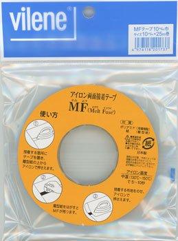 MFテープ アイロン両面接着テープ 10mm×25m
