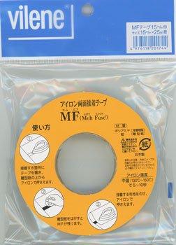 MFテープ アイロン両面接着テープ 15mm×25m