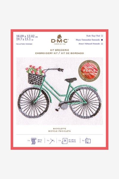 DMC 刺繍キット BICYCLE 自転車 TB147 【参考画像1】