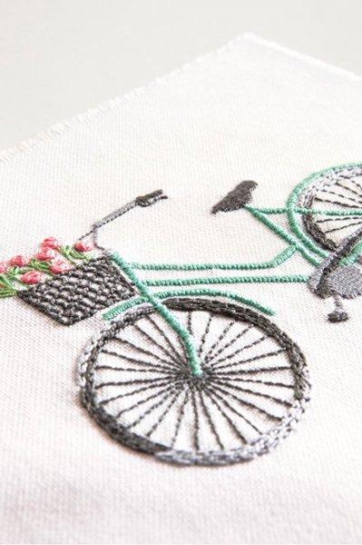 DMC 刺繍キット BICYCLE 自転車 TB147 【参考画像3】
