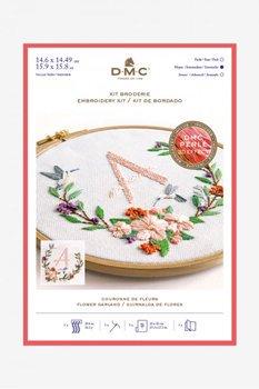 DMC 刺繍キット FLOWER GARLAND フラワーガーランド TB149 刺しゅう枠付