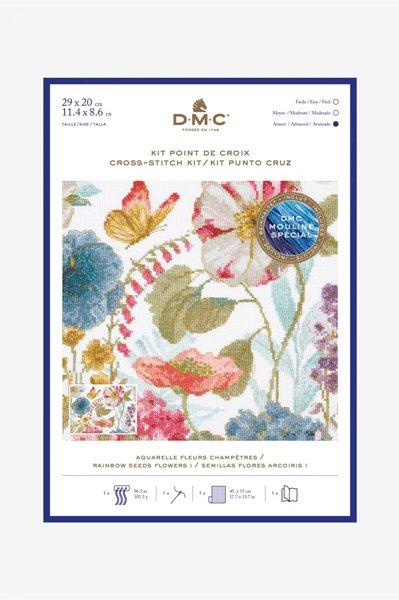 DMC クロスステッチキット RAINBOW SEEDS FLOWERS I BL1166/76 【参考画像1】
