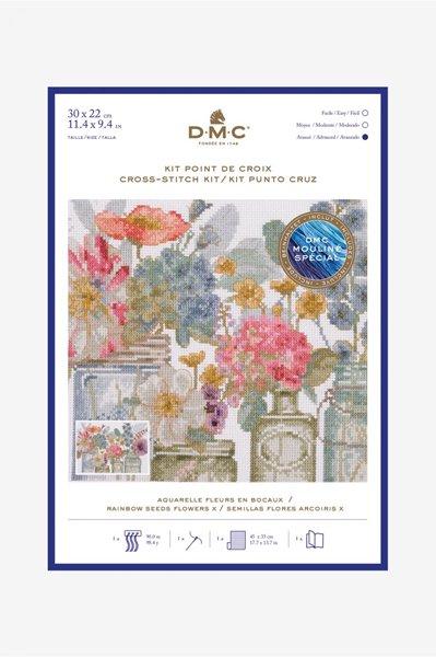 DMC クロスステッチキット RAINBOW SEEDS FLOWERS X BL1167/76 【参考画像1】