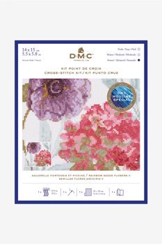 DMC クロスステッチキット RAINBOW SEEDS FLOWERS V BL1168/76