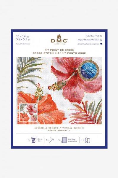 DMC クロスステッチキット TROPICAL BLUSH � BL1169/76 【参考画像1】