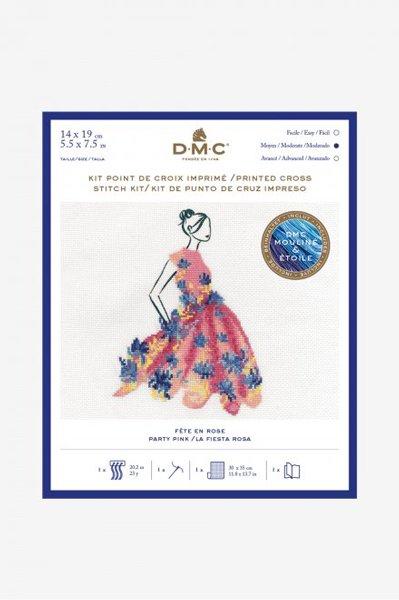 DMC クロスステッチキット PARTY PINK BK1794 【参考画像1】