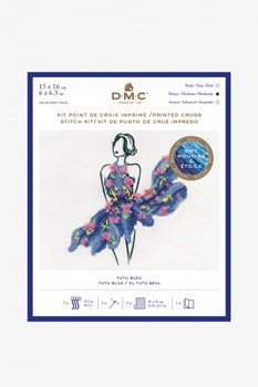 DMC クロスステッチキット TUTU BLUE BK1795