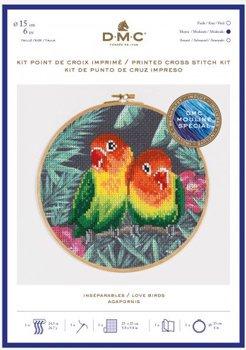 DMC クロスステッチキット LOVE BIRDS BK1791