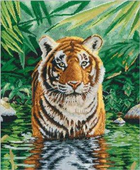 DMC 刺繍キット TIGER POOL BK1151