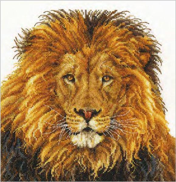 DMC 刺繍キット LION'S PRIDE BK1668 【参考画像1】