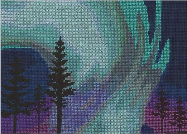 DMC 刺繍キット NORTHERN LIGHTS BK1722 【参考画像1】