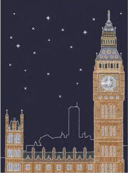 DMC 刺繍キット LONDON BY NIGHT BK1723 【参考画像1】
