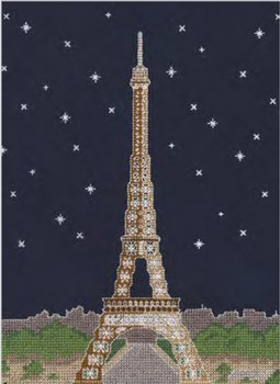 DMC 刺繍キット PARIS BY NIGHT BK1725