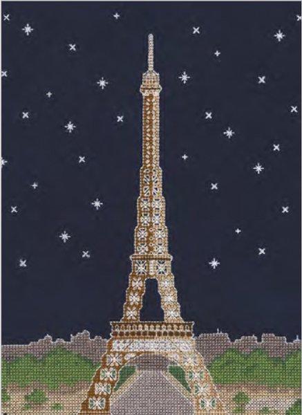 DMC 刺繍キット PARIS BY NIGHT BK1725 【参考画像1】