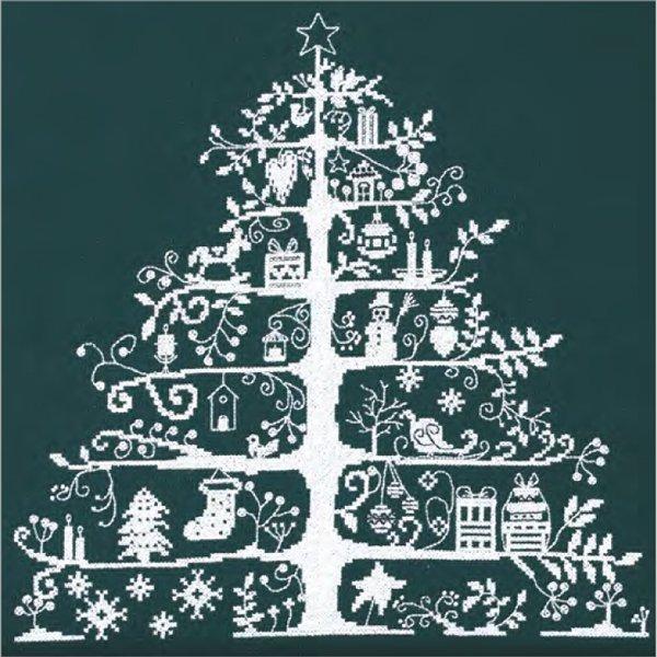 DMC クロスステッチキット クリスマスツリー グリーン JPBK557G 【参考画像1】