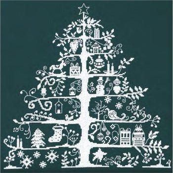 DMC クロスステッチキット クリスマスツリー グリーン JPBK557G