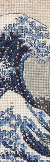 DMC クロスステッチキット 神奈川沖浪裏 BL1146/73 【参考画像1】